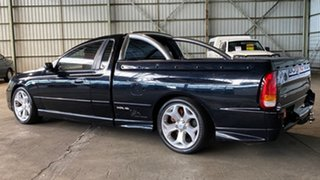 2005 Ford Falcon BF XR6 Turbo Ute Super Cab Black 6 Speed Sports Automatic Utility