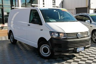2016 Volkswagen Transporter T6 MY16 TDI340 LWB White 6 Speed Manual Van.