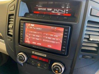 2012 Mitsubishi Pajero NW MY12 Exceed LWB (4x4) Bronze 5 Speed Auto Sports Mode Wagon