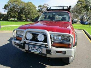 1997 Toyota Landcruiser GXL (4x4) Red 5 Speed Manual 4x4 Wagon