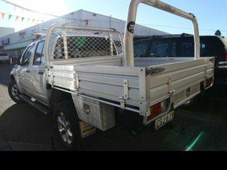 2011 Nissan Navara D40 ST (4x4) Silver 6 Speed Manual Dual Cab Pick-up.