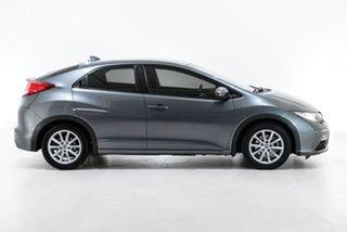 2013 Honda Civic 9th Gen MY13 VTi-S Grey 5 Speed Sports Automatic Hatchback