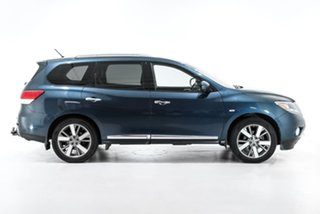 2014 Nissan Pathfinder R52 MY14 Ti X-tronic 4WD Blue 1 Speed Constant Variable Wagon