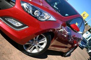 2014 Hyundai i30 GD MY14 Elite Red 6 Speed Automatic Hatchback.