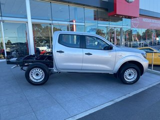 2021 Nissan Navara D23 MY21 SL Brilliant Silver 7 Speed Sports Automatic Cab Chassis.