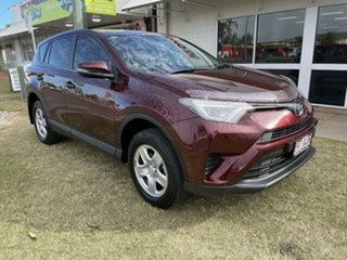 2017 Toyota RAV4 ZSA42R MY17 GX (2WD) Red Continuous Variable Wagon.