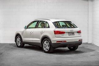 2012 Audi Q3 8U MY12 TFSI S Tronic Quattro White 7 Speed Sports Automatic Dual Clutch Wagon.