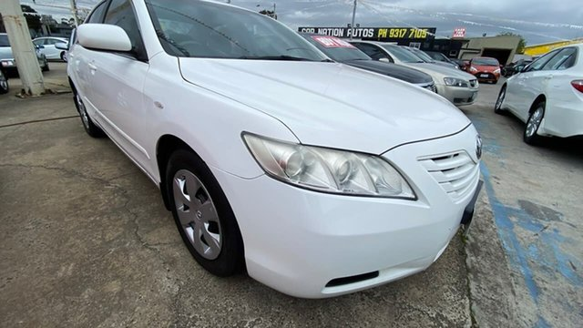 Used Toyota Camry ACV40R Altise Maidstone, 2008 Toyota Camry ACV40R Altise White 5 Speed Automatic Sedan