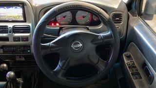2004 Nissan Navara D22 MY2003 ST-R Silver 5 Speed Manual Utility
