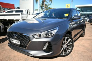 2018 Hyundai i30 PD2 Trophy Limited Edition Grey 6 Speed Auto Sequential Hatchback.