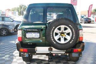 2002 Nissan Patrol GU III MY2002 ST Green 5 Speed Sports Automatic Wagon.