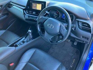 2019 Toyota C-HR NGX10R Koba S-CVT 2WD Nebula Blue & Black Roof 7 Speed Constant Variable Wagon.