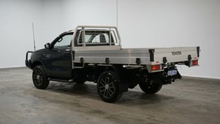 2019 Toyota Hilux GUN126R SR Graphite 6 Speed Sports Automatic Cab Chassis.