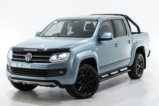 2016 Volkswagen Amarok 2H MY16 TDI420 4MOTION Perm Atacama Blue 8 Speed Automatic Utility.
