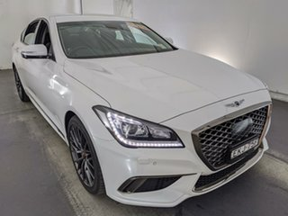 2019 Genesis G80 DH MY19 3.8 Sport Design White 8 Speed Sports Automatic Sedan.