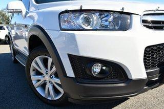 2014 Holden Captiva CG MY14 7 AWD LT White 6 Speed Sports Automatic Wagon.