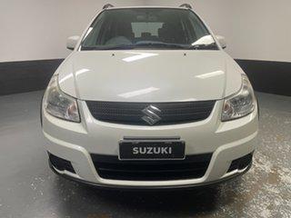 2009 Suzuki SX4 GYA S White 4 Speed Automatic Hatchback.
