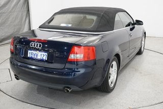 2005 Audi A4 B6 MY05 Multitronic Blue 1 Speed Constant Variable Cabriolet