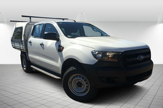 2015 Ford Ranger PX XL Plus White 6 Speed Sports Automatic Utility.