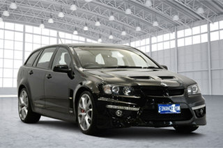 2010 Holden Special Vehicles ClubSport E Series 3 R8 Tourer Black 6 Speed Manual Wagon.