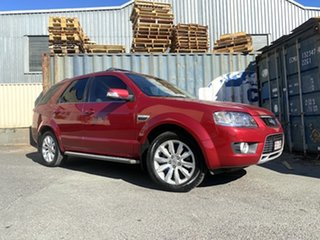 2010 Ford Territory SY MkII Ghia AWD Red 6 Speed Sports Automatic Wagon.