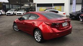 2018 Mazda 3 BN5238 SP25 SKYACTIV-Drive Red 6 Speed Sports Automatic Sedan.