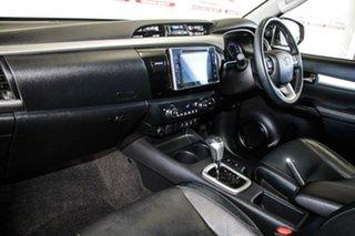 2015 Toyota Hilux GUN126R SR5 (4x4) Crystal Pearl 6 Speed Automatic Dual Cab Utility