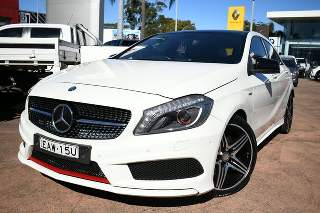 Used Mercedes-Benz A250 176 MY15 Sport Brookvale, 2015 Mercedes-Benz A250 176 MY15 Sport White 7 Speed Automatic Hatchback