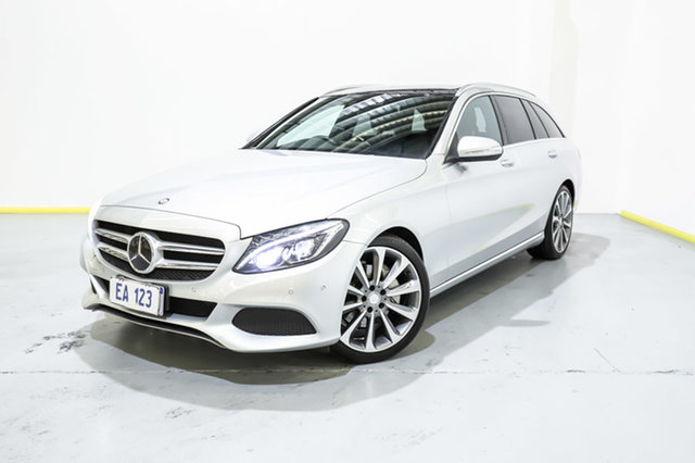 Used Mercedes-Benz C-Class S205 806MY C250 Estate 7G-Tronic + Canning Vale, 2015 Mercedes-Benz C-Class S205 806MY C250 Estate 7G-Tronic + Silver 7 Speed Sports Automatic Wagon