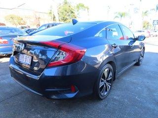 2016 Honda Civic MY16 VTi-LX Blue Continuous Variable Sedan.