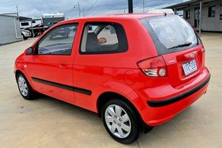 2004 Hyundai Getz TB MY04 XL Red 5 Speed Manual Hatchback