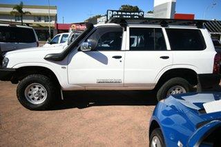 2011 Nissan Patrol GU VII DX (4x4) White 4 Speed Automatic Wagon