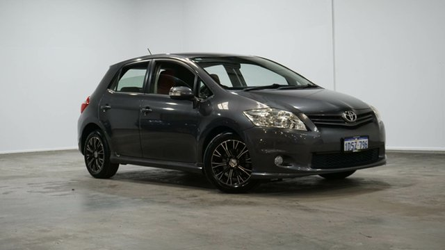 Used Toyota Corolla ZRE152R MY11 Levin SX Welshpool, 2011 Toyota Corolla ZRE152R MY11 Levin SX Grey 4 Speed Automatic Hatchback