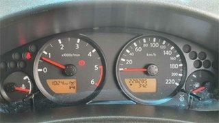 2009 Nissan Navara D40 Titanium Black 6 Speed Manual Utility