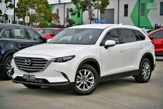 2018 Mazda CX-9 TC Touring SKYACTIV-Drive White 6 Speed Sports Automatic Wagon.