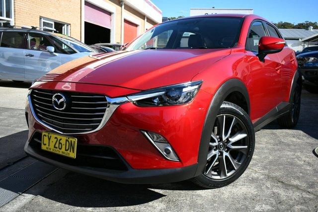 Used Mazda CX-3 DK S Touring (FWD) Narrabeen, 2016 Mazda CX-3 DK S Touring (FWD) Red 6 Speed Automatic Wagon