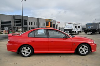 2003 Holden Commodore VY S Red 5 Speed Manual Sedan
