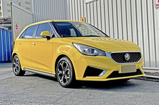 2021 MG MG3 SZP1 MY21 Excite Yellow 4 Speed Automatic Hatchback.
