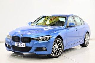 2018 BMW 3 Series F30 LCI 330i Sport Line Blue 8 Speed Sports Automatic Sedan.
