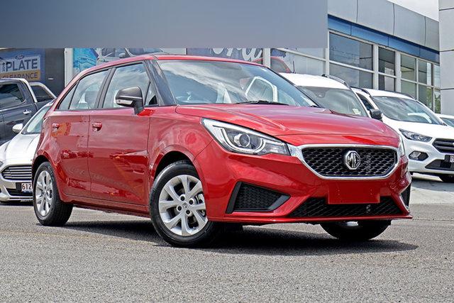 New MG MG3 SZP1 MY21 Core Springwood, 2021 MG MG3 SZP1 MY21 Core Red 4 Speed Automatic Hatchback