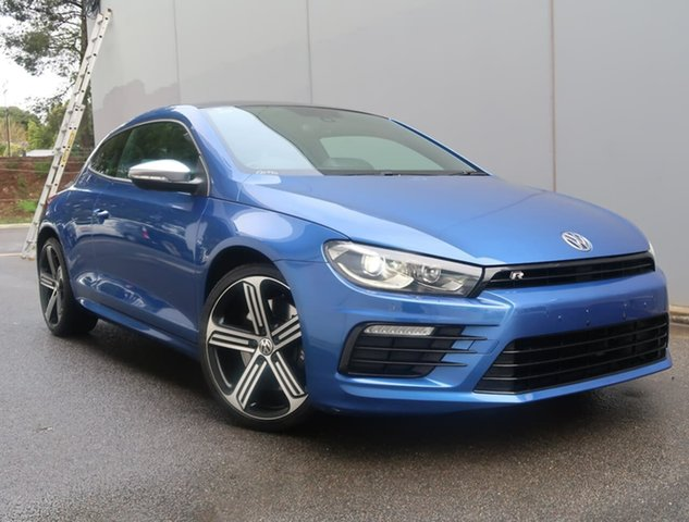 Used Volkswagen Scirocco 1S MY16 R Coupe DSG Reynella, 2015 Volkswagen Scirocco 1S MY16 R Coupe DSG Blue 6 Speed Sports Automatic Dual Clutch Hatchback