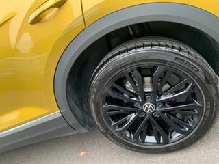 2021 Volkswagen T-ROC A1 MY21 110TSI Style Yellow 8 Speed Sports Automatic Wagon