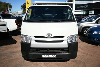 2017 Toyota HiAce KDH201R MY16 LWB White 5 Speed Manual Van