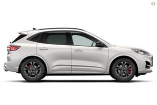 2021 Ford Escape ZH 2021.25MY ST-Line White 8 Speed Sports Automatic SUV.