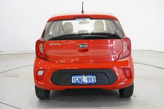 2018 Kia Picanto JA MY18 S Signal Red 4 Speed Automatic Hatchback