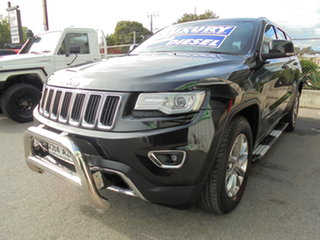 2013 Jeep Grand Cherokee WK MY2014 Laredo Black 8 Speed Sports Automatic Wagon.