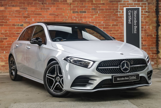 Certified Pre-Owned Mercedes-Benz A-Class W177 800+050MY A180 DCT Mulgrave, 2020 Mercedes-Benz A-Class W177 800+050MY A180 DCT Iridium Silver 7 Speed