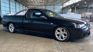 2005 Ford Falcon BF XR6 Turbo Ute Super Cab Black 6 Speed Sports Automatic Utility.