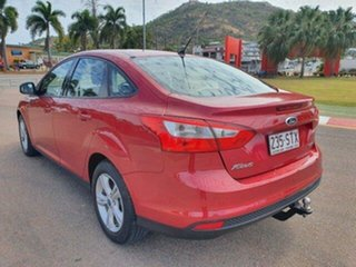 2012 Ford Focus LW MkII Trend PwrShift Candy Red 6 Speed Sports Automatic Dual Clutch Sedan