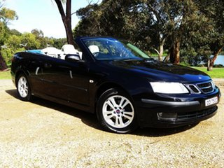 2007 Saab 9-3 442 MY2007 Linear Black 5 Speed Sports Automatic Convertible.